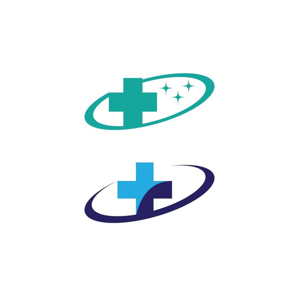 medische kruis iconen vector