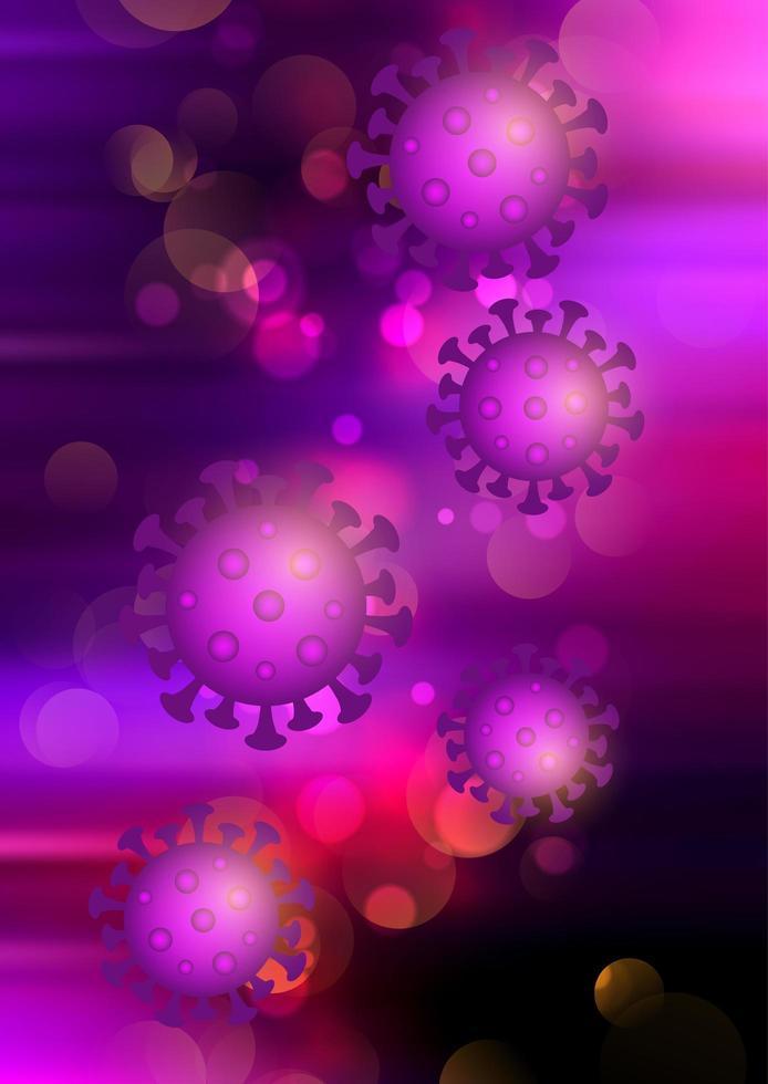 couvrir 19 cellules virales vecteur