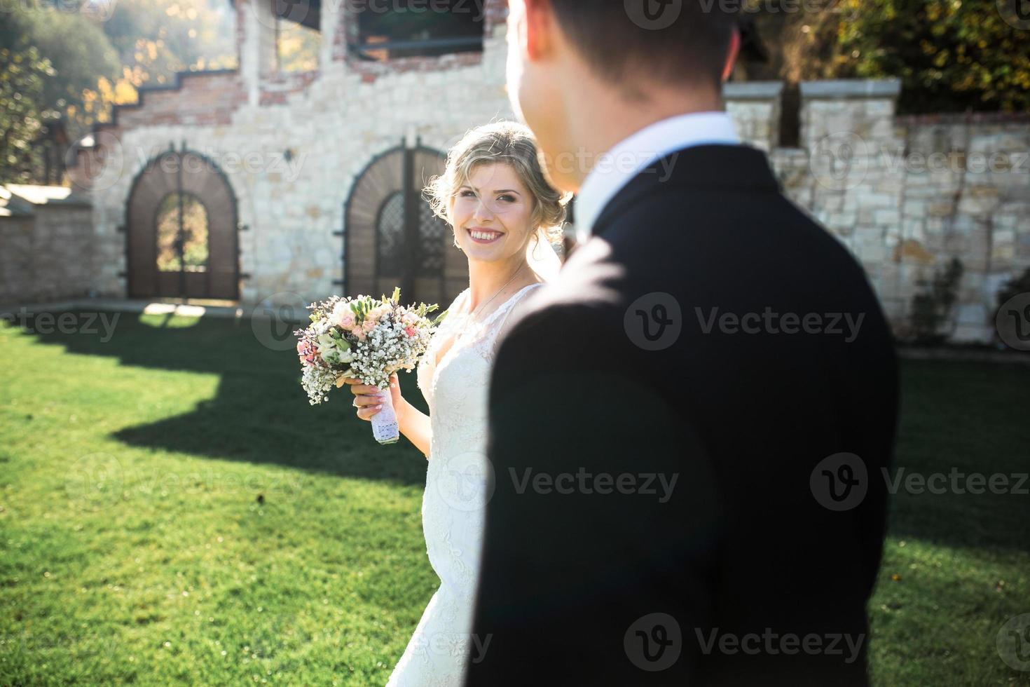 la novia y el novio foto