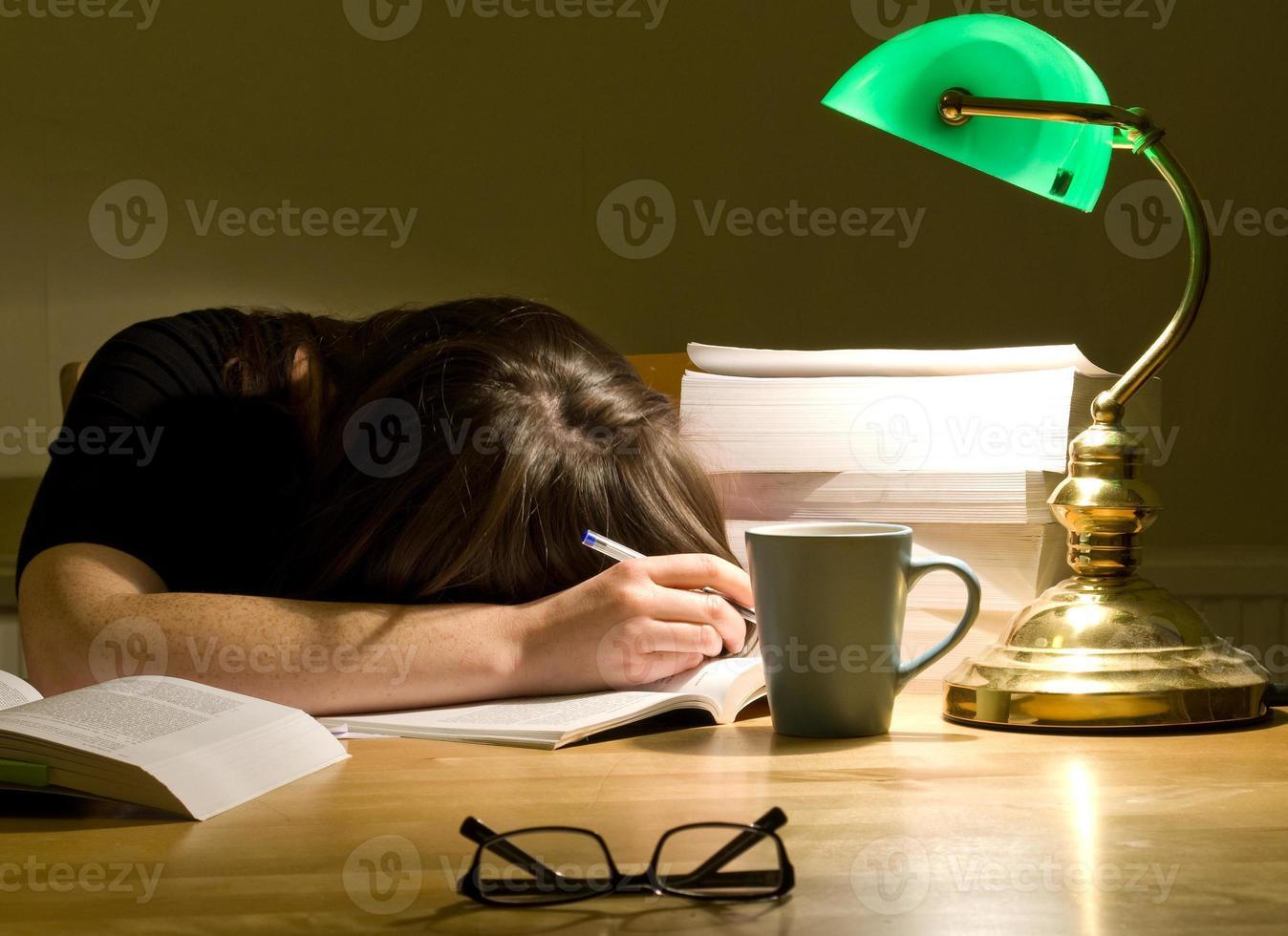 Study nap photo