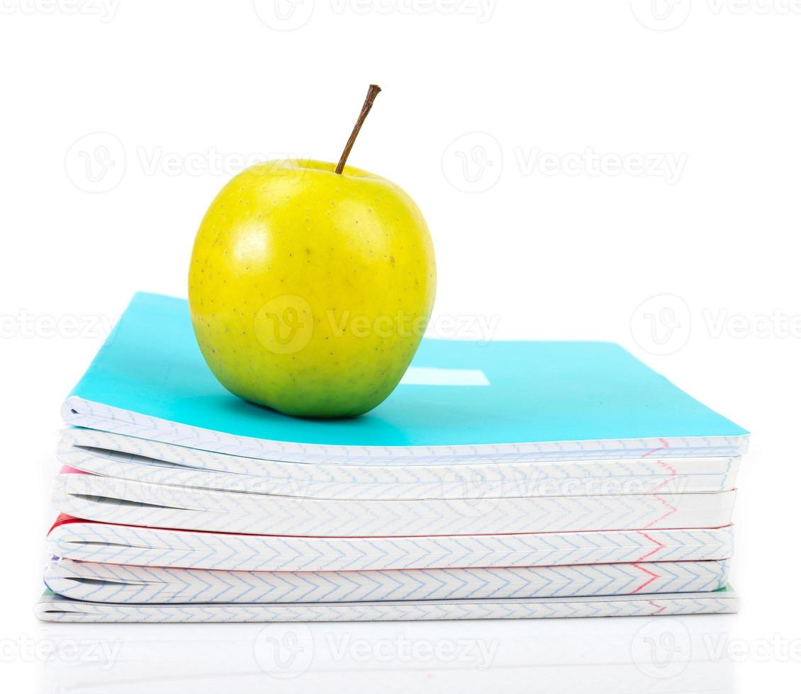 Accesorios de estudios escolares y escolares. foto