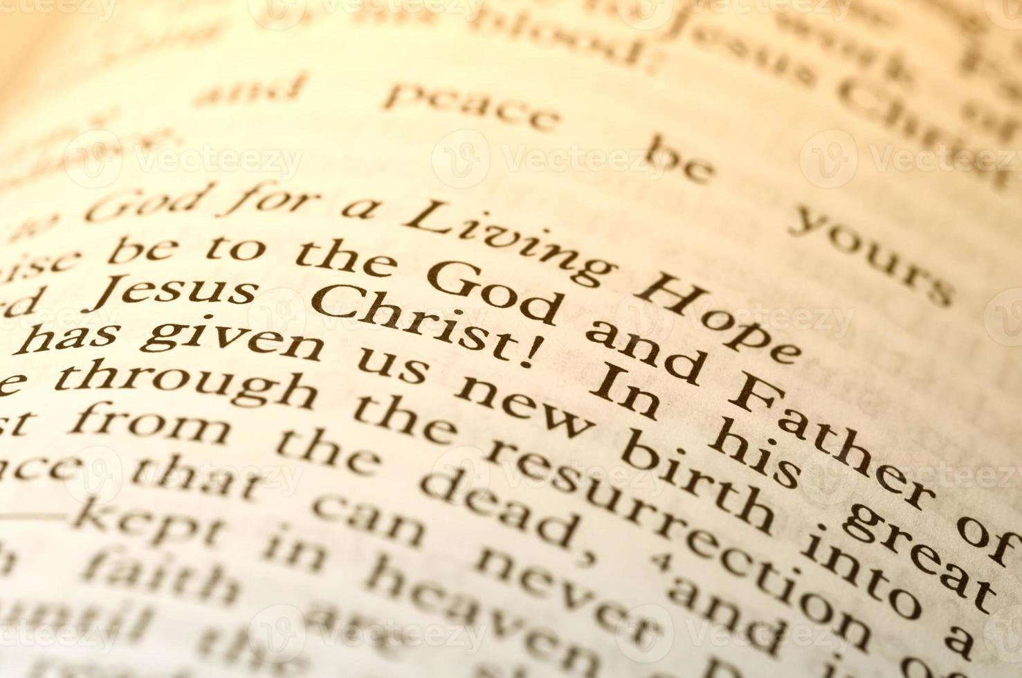 text of the bible photo