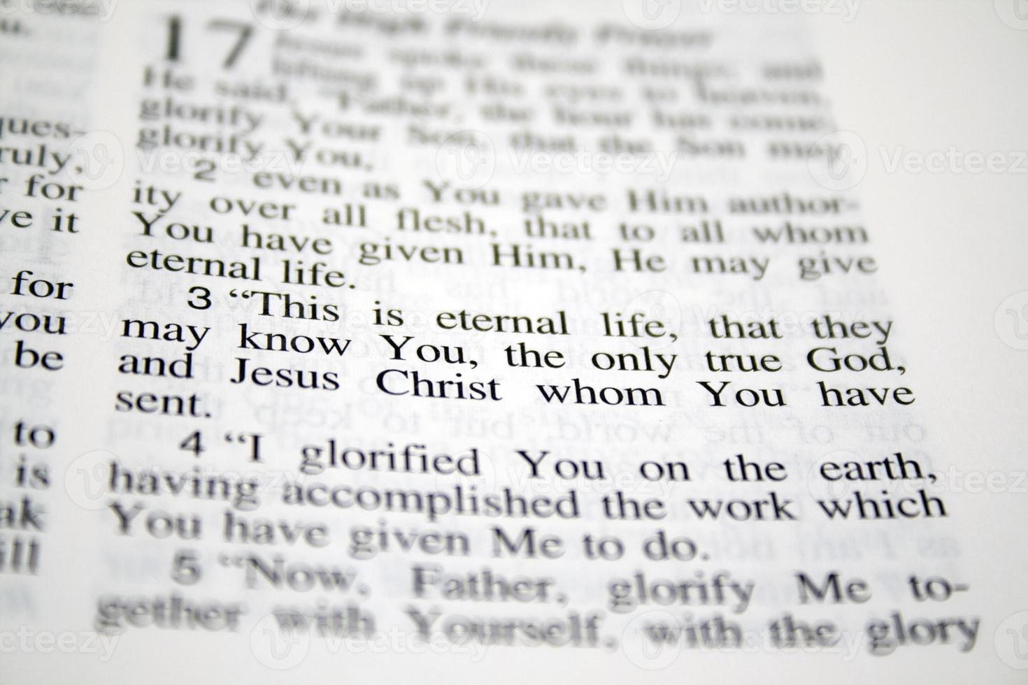 This is eternal life... photo