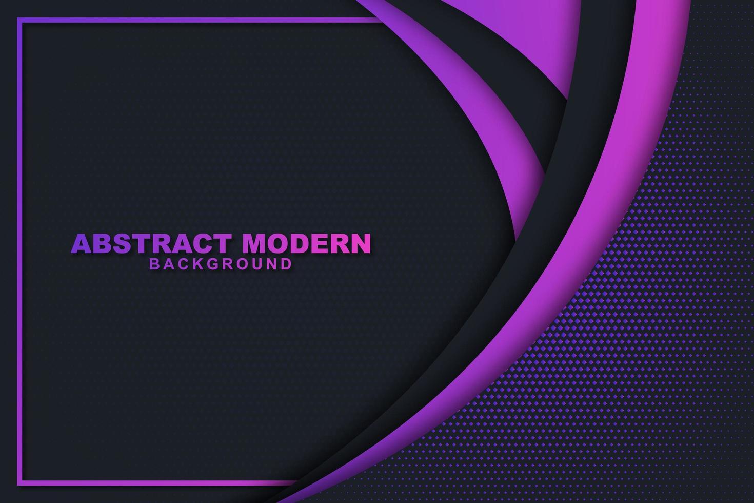 Fondo de arco de capas púrpura vector