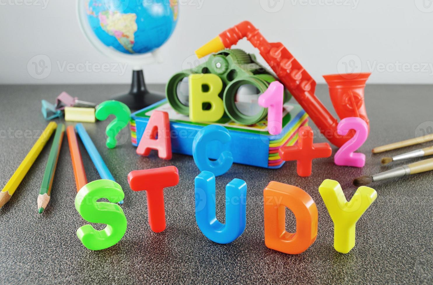 Study conceptual image photo