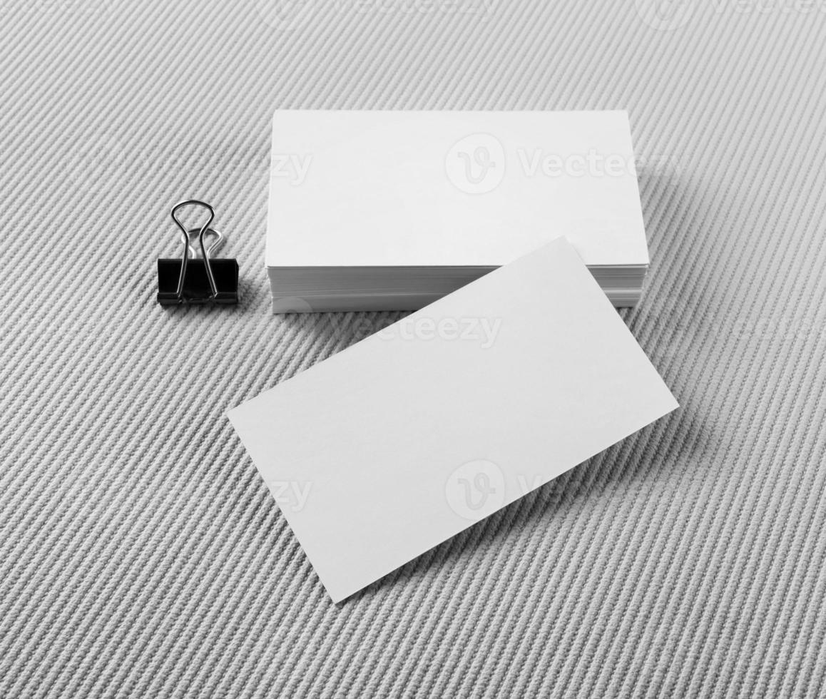 Several business cards photo