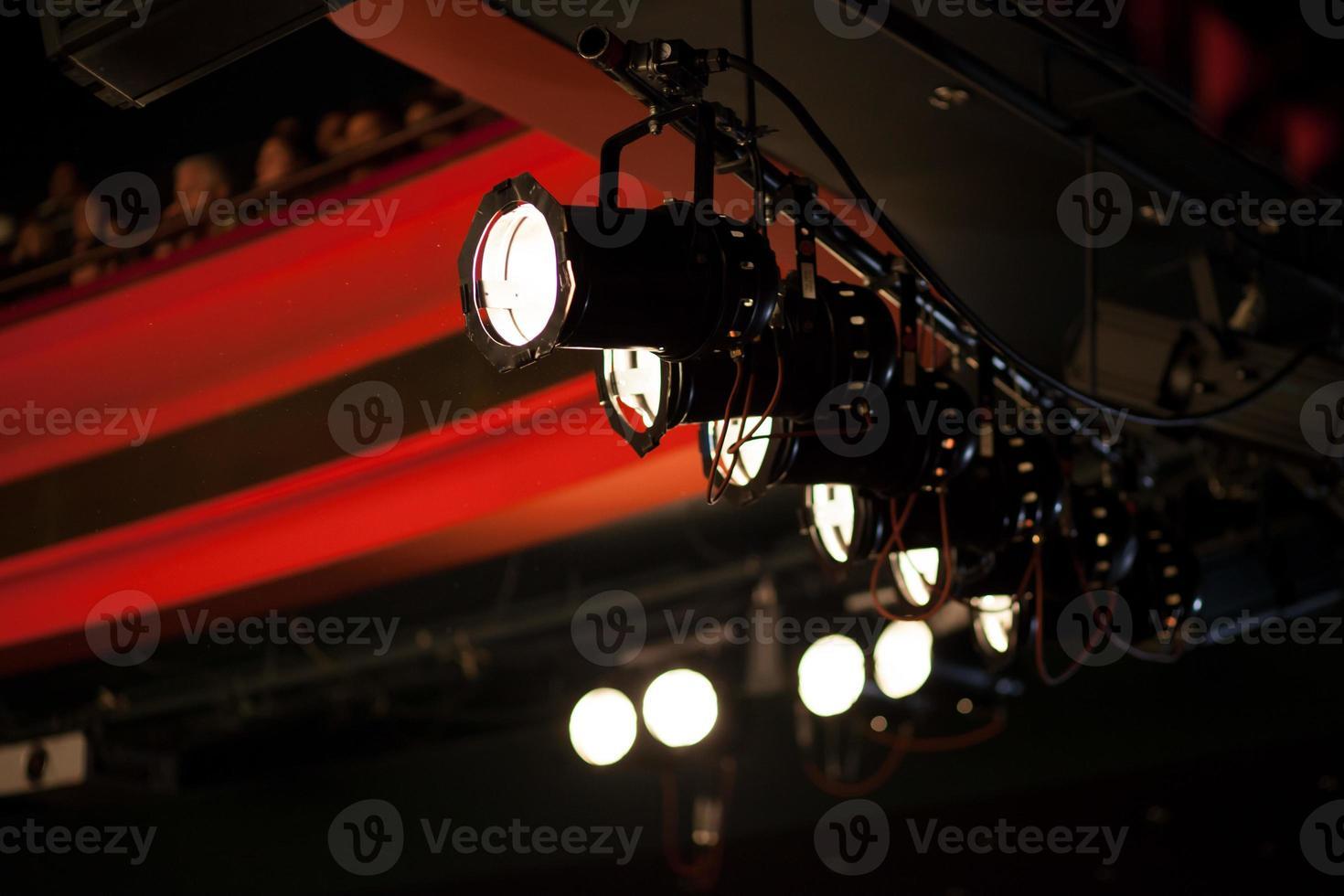 stage lights photo