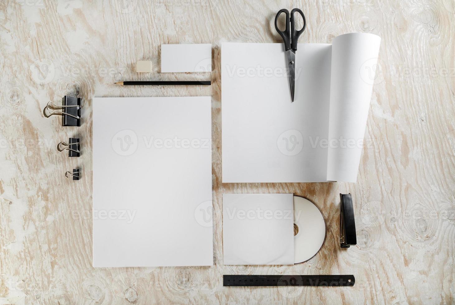 Blank stationery photo
