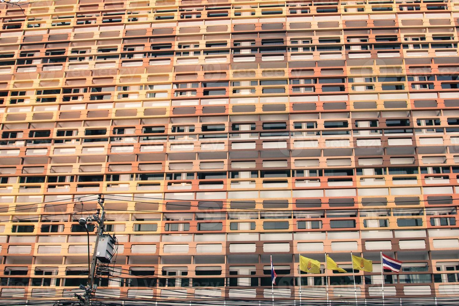 Housing Complex Pattern photo
