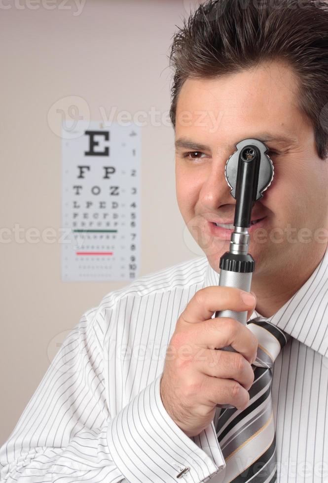 optometrista, oculista foto