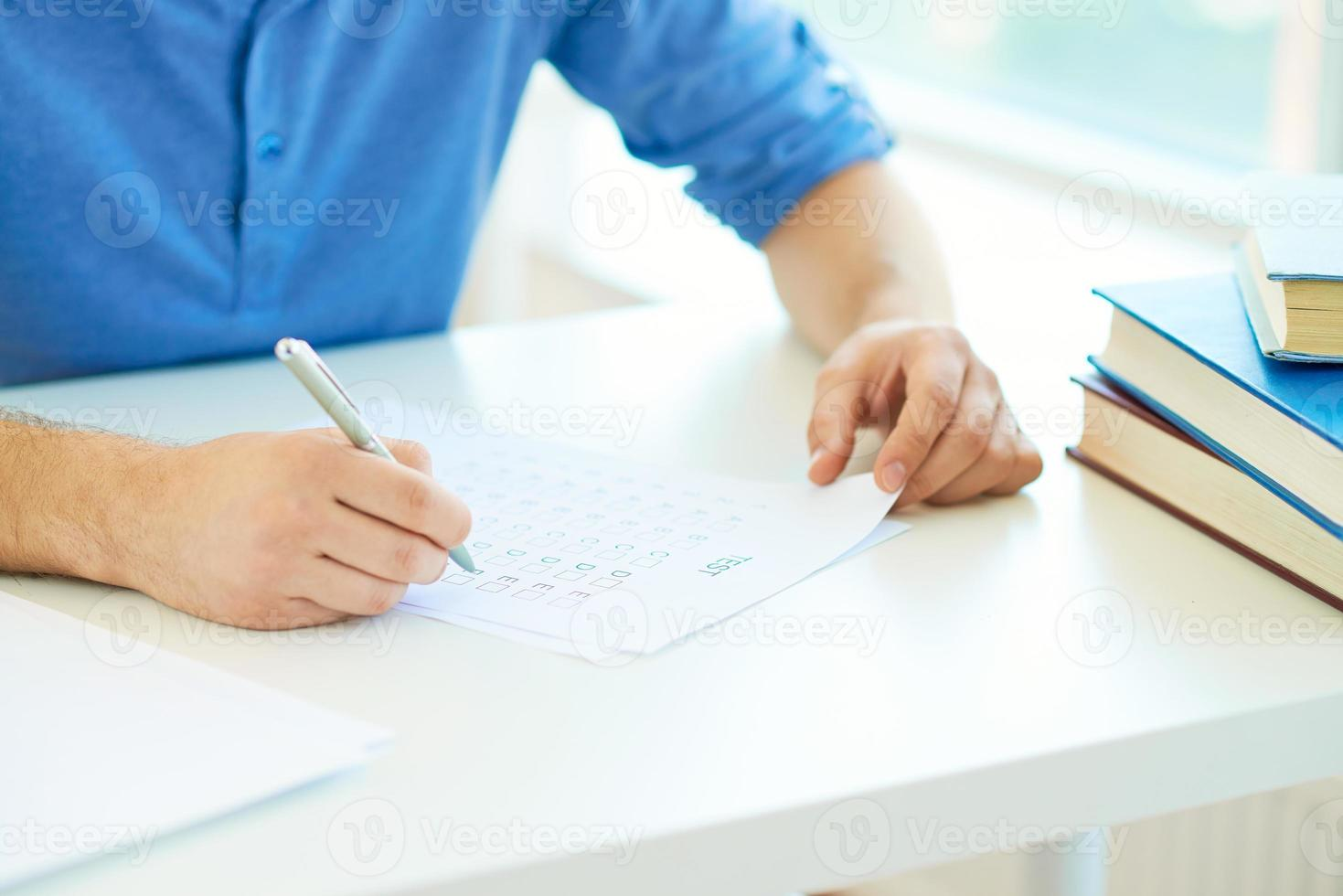 Writing course test photo