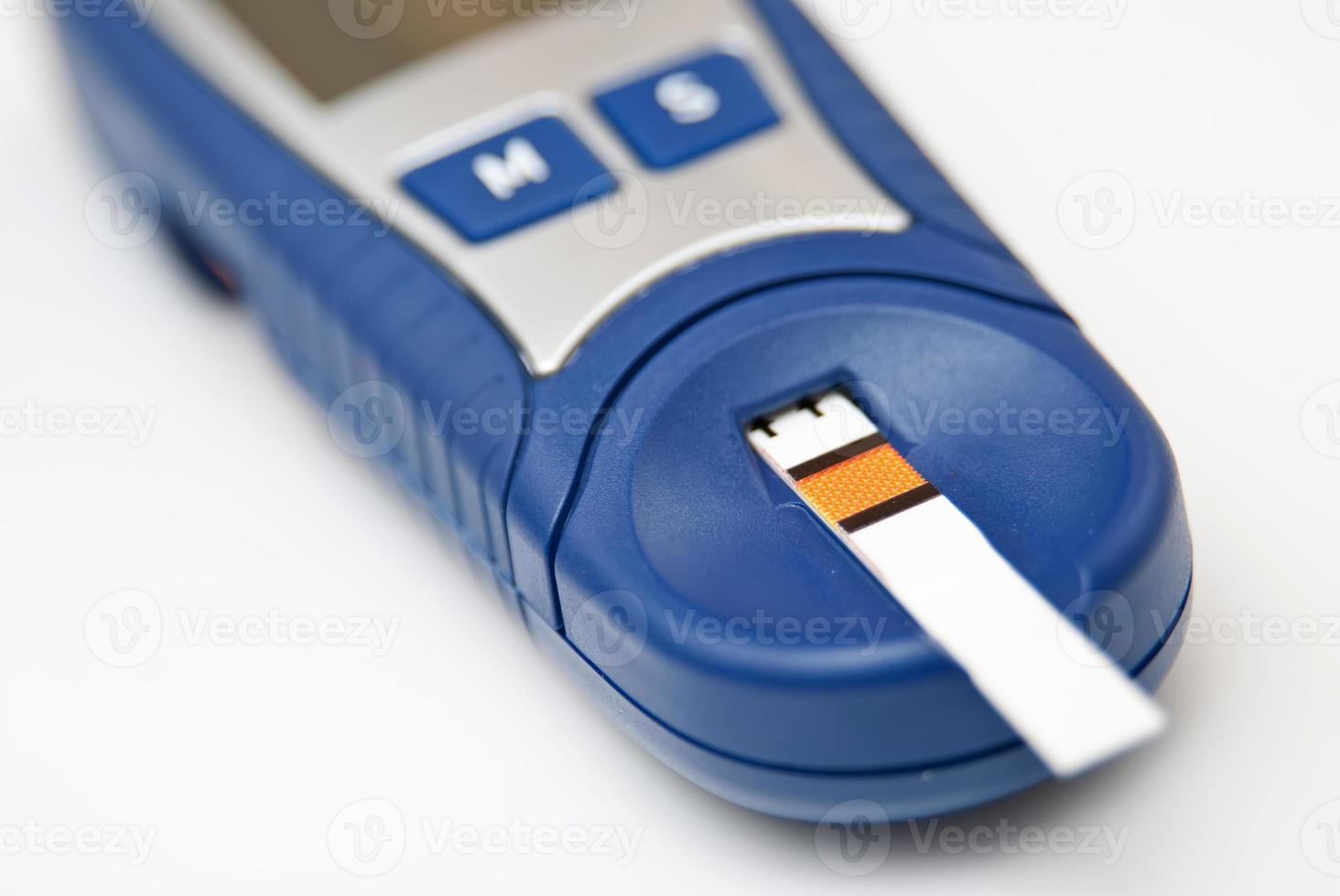 Blood glucose meter photo