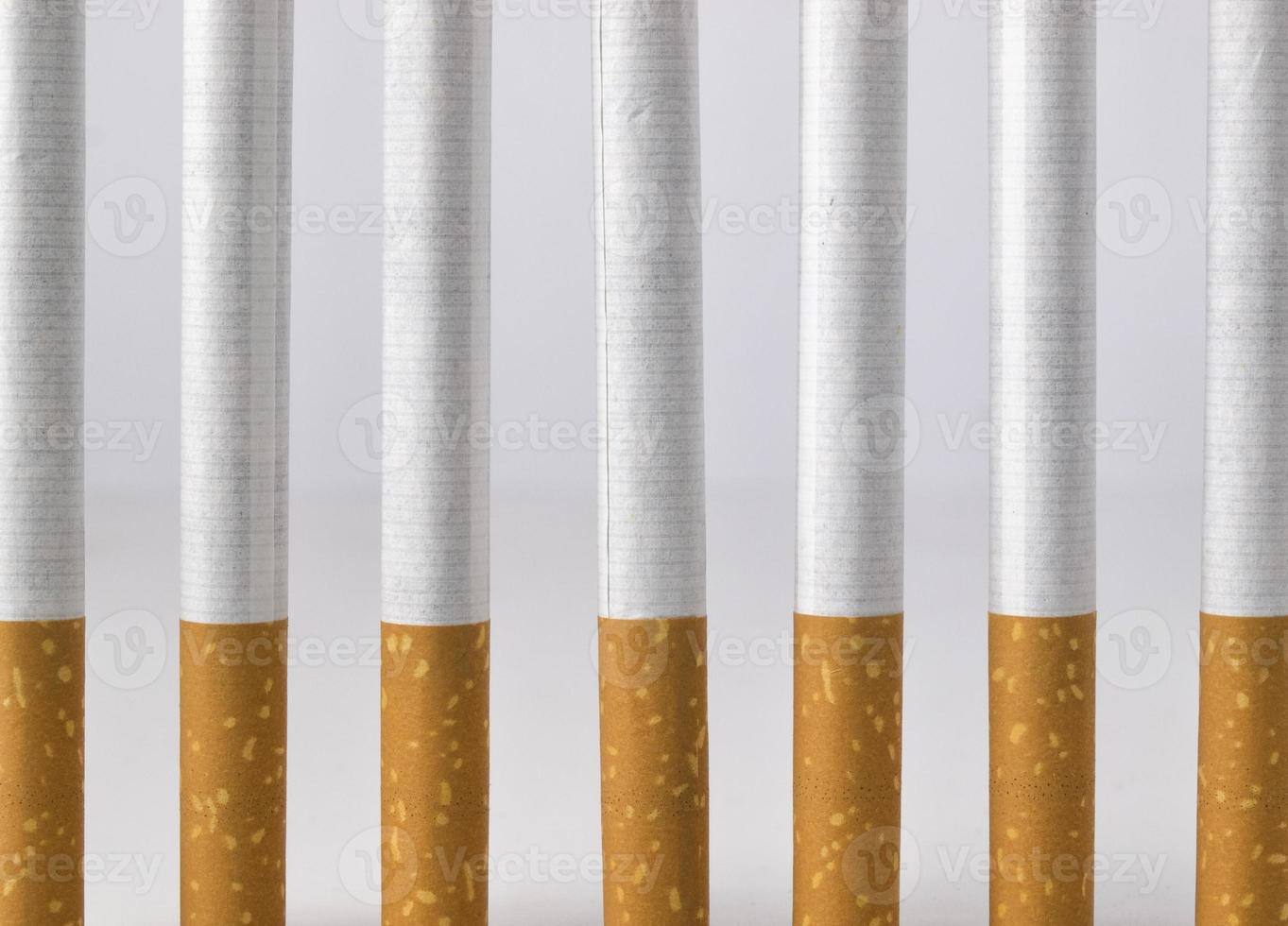 Smoking is a prison photo