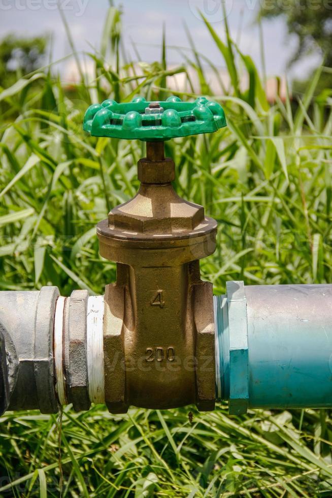 válvula de agua foto