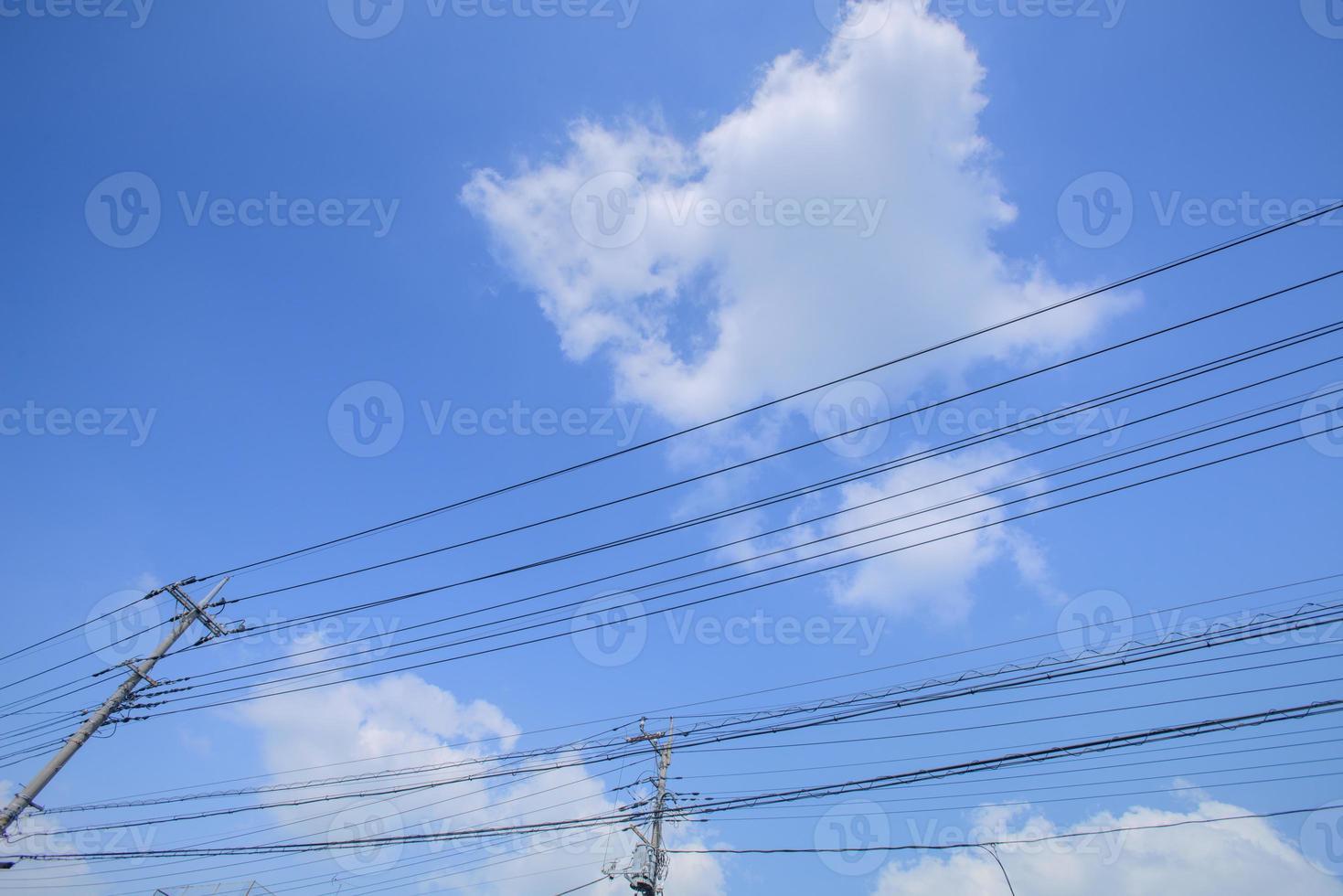 electricity post photo