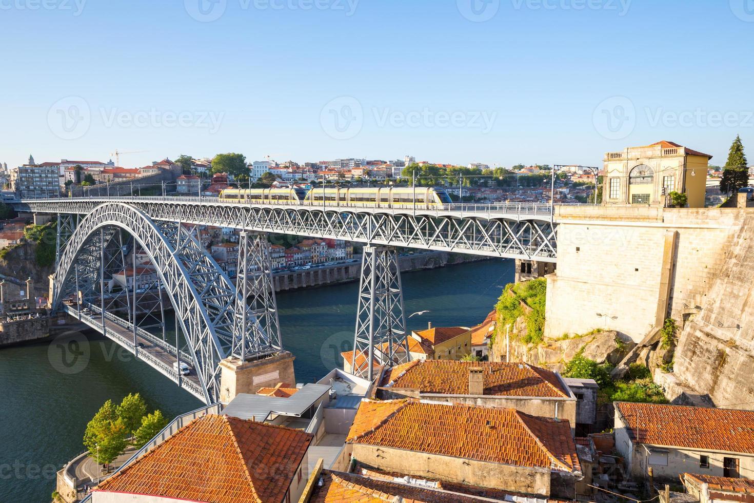 Dom Luiz bridge Porto photo