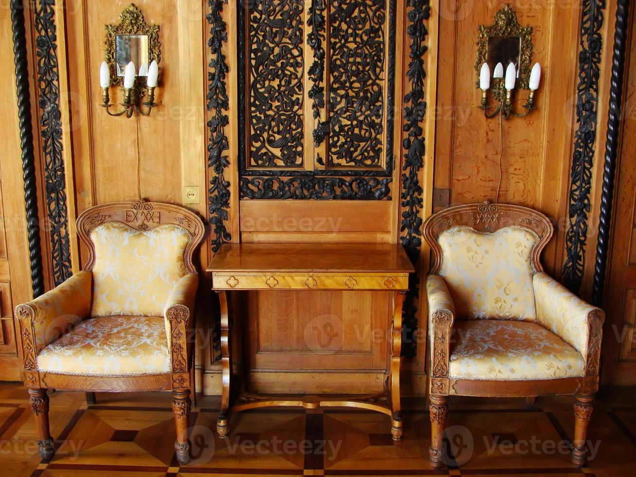 Interior of Vorontsov palace, Alupka, Crimea photo