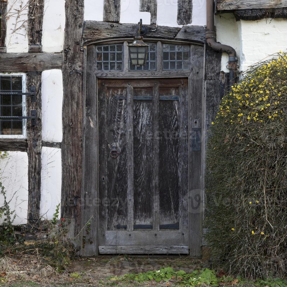 puerta de tudor foto