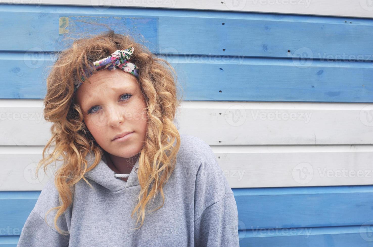 adolescente callejero foto