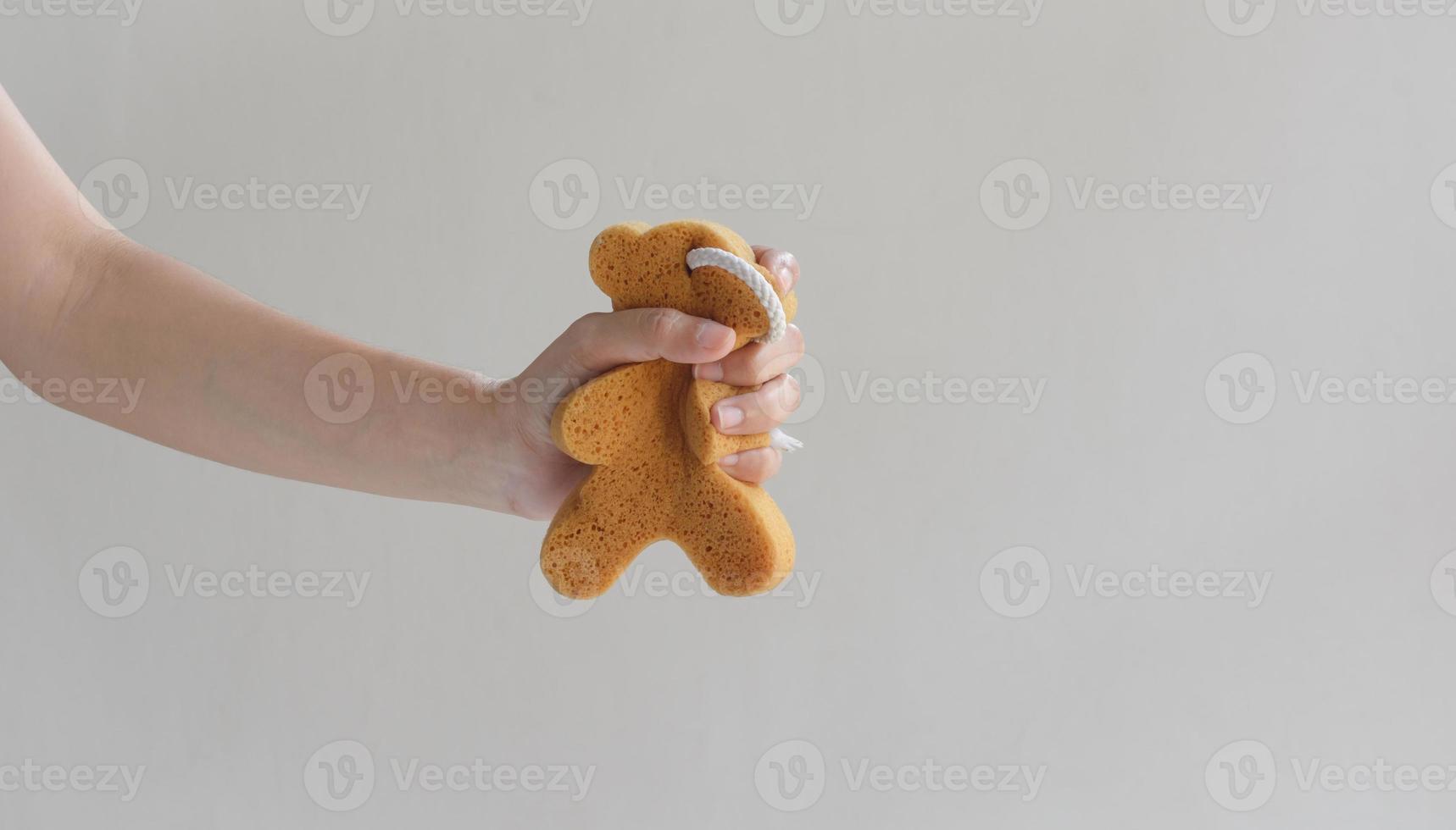 sponge bath photo