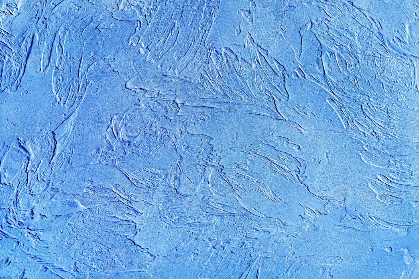 blue decorative plaster, graphics photo