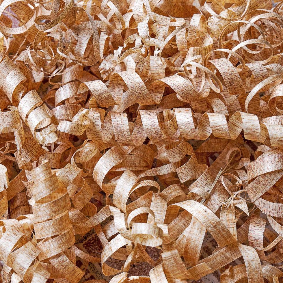 textura de afeitar de madera foto