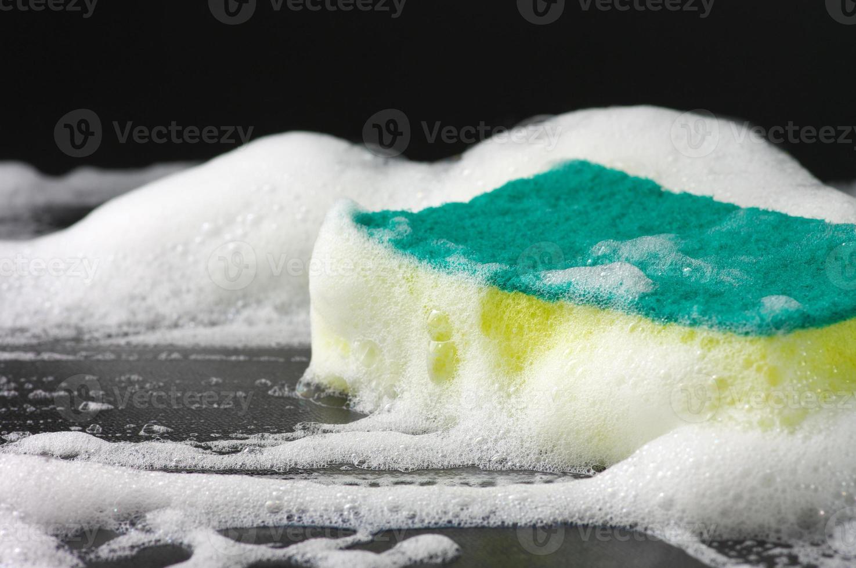 lathery sponge photo