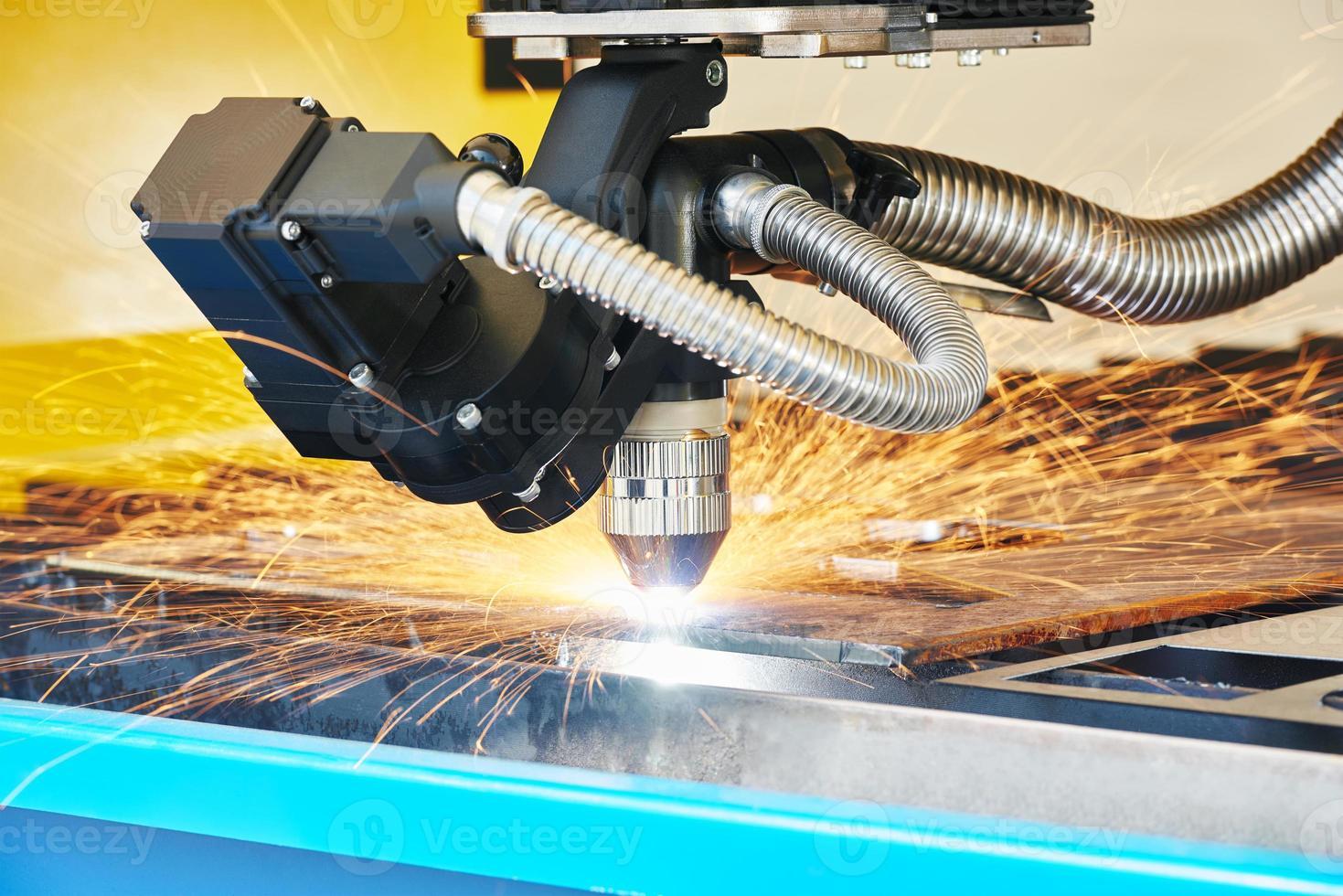 Plasma or laser cutting metalwork photo
