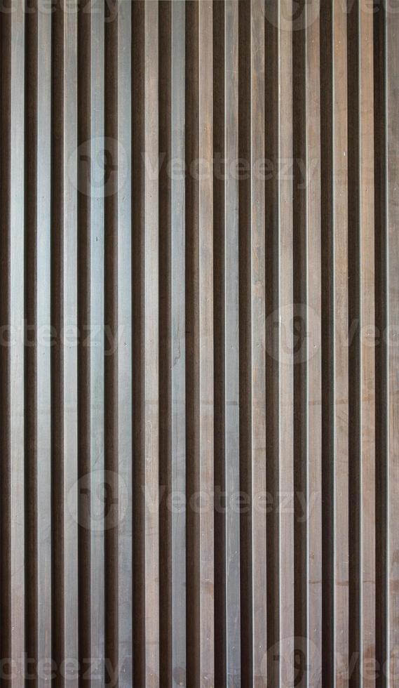 pared de listones de madera foto