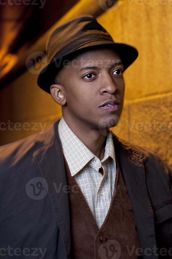 afroamericano veinte algo masculino foto