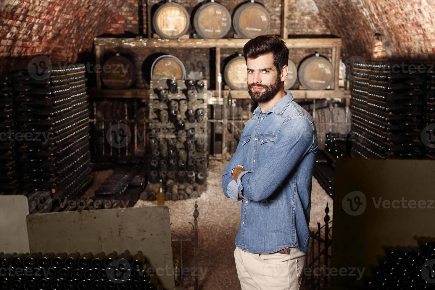 Young winemaker photo