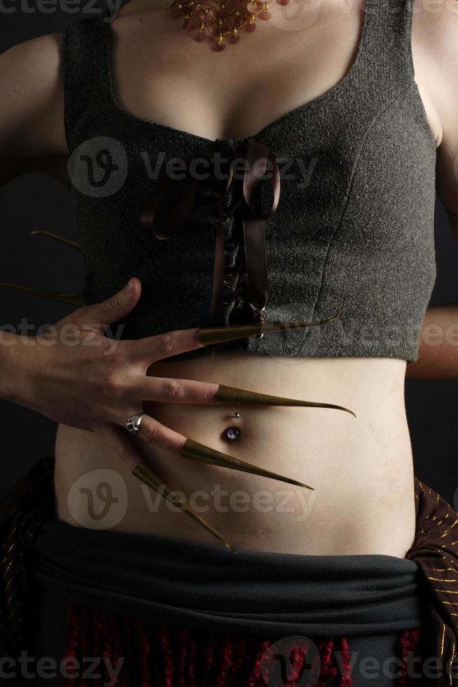 serie de bailarina del vientre foto