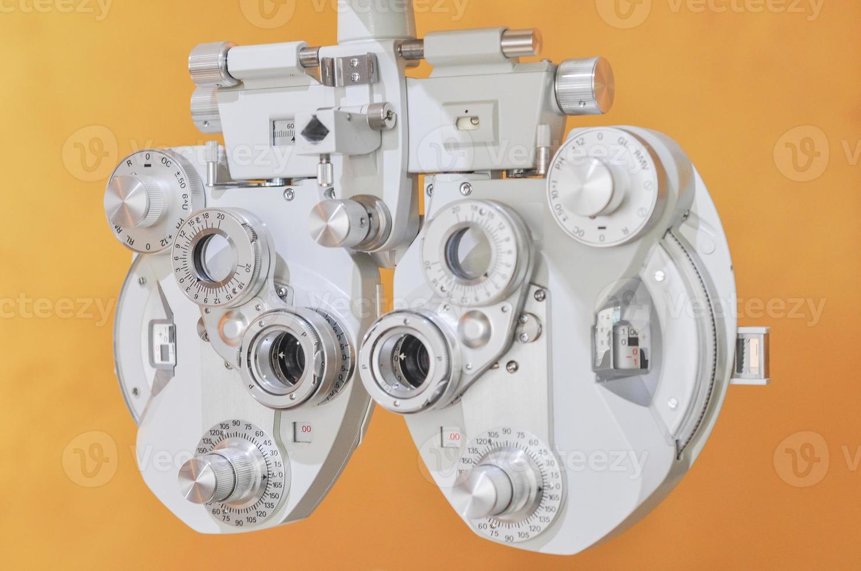 Optician diopter photo