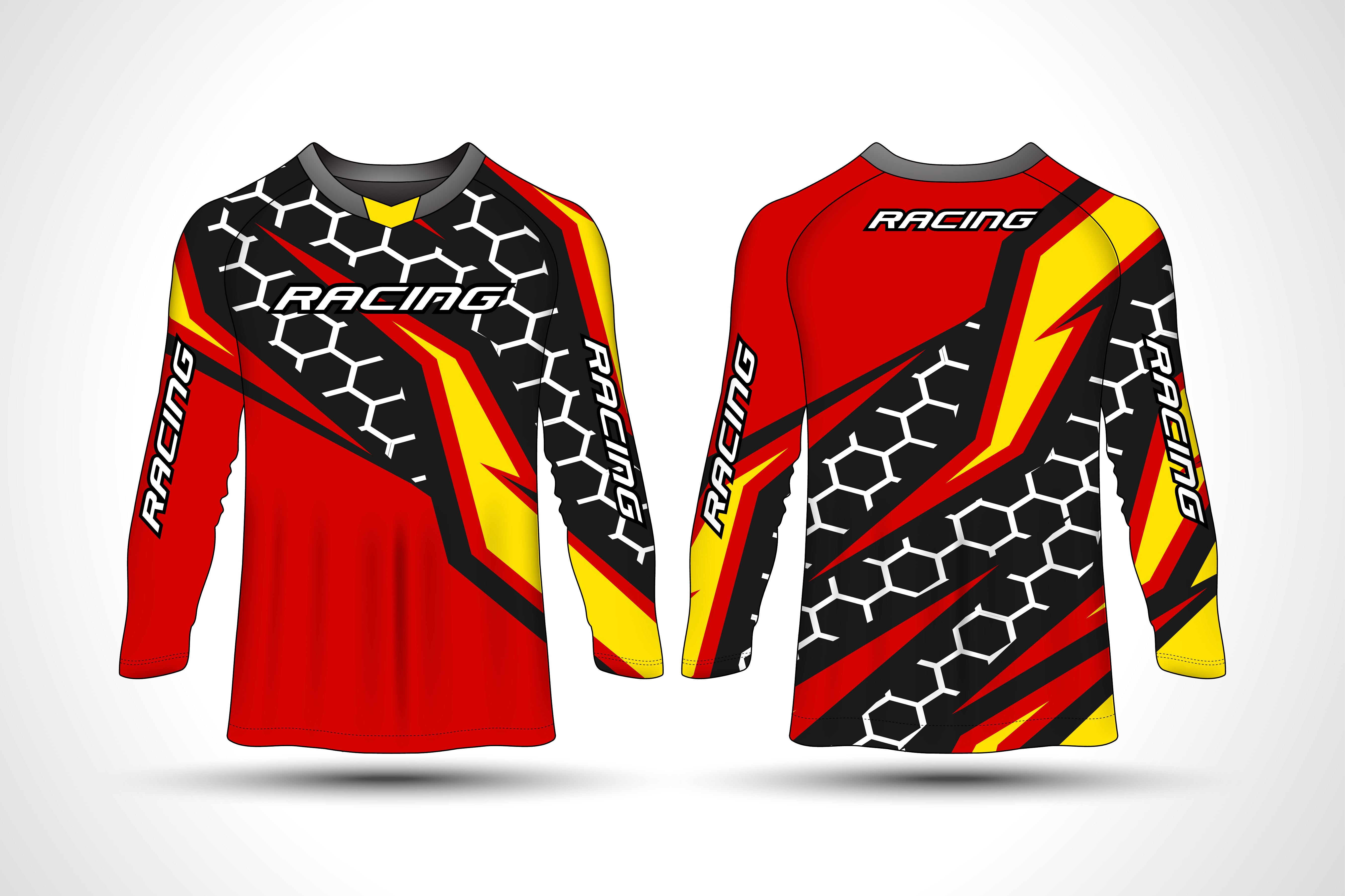 Motocross Jersey Free Vector Art 4 Free Downloads