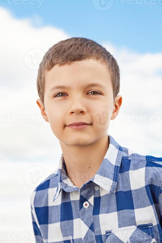 encantador adolescente foto