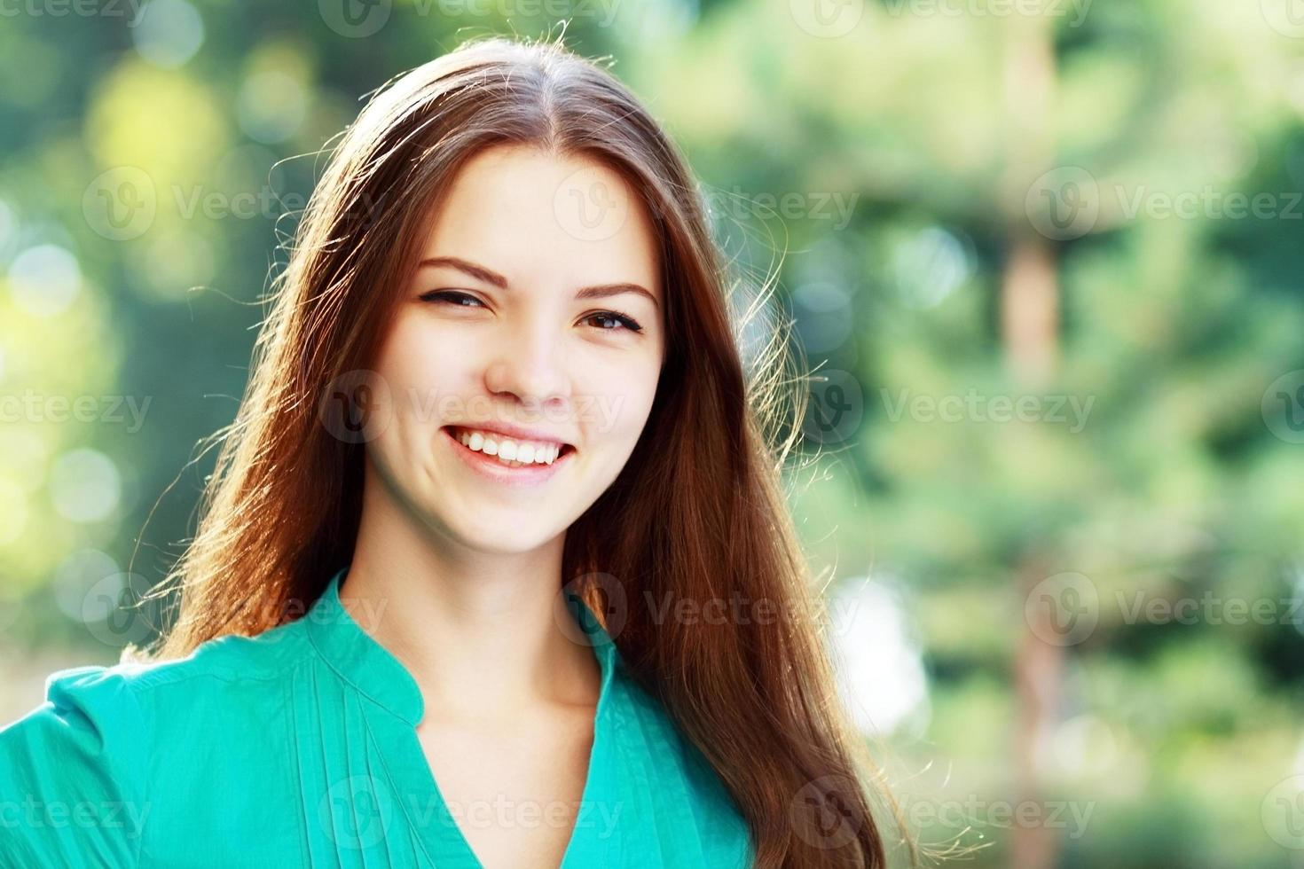 teenage girl looking photo