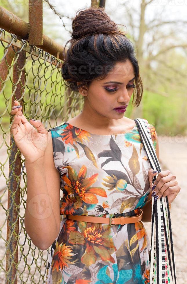 mujer india foto