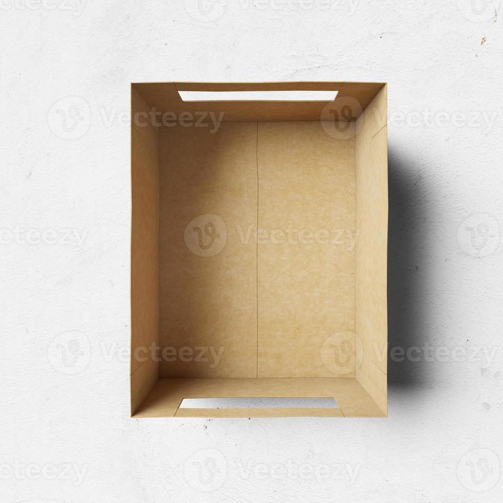 caja de carton foto