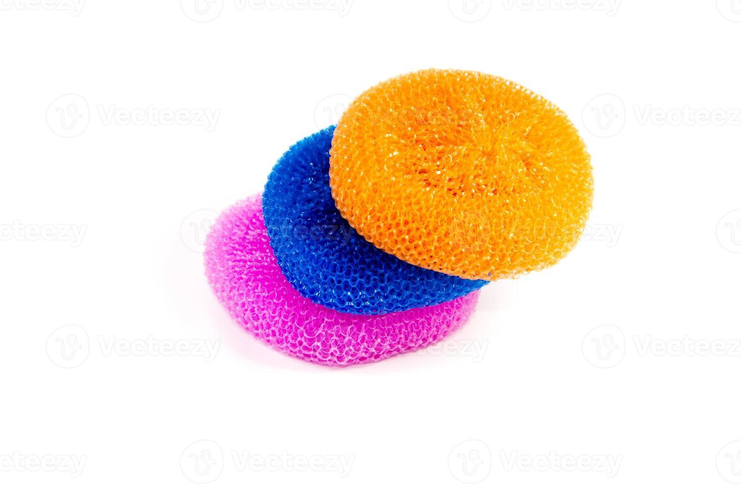 Different Pot Sponges photo