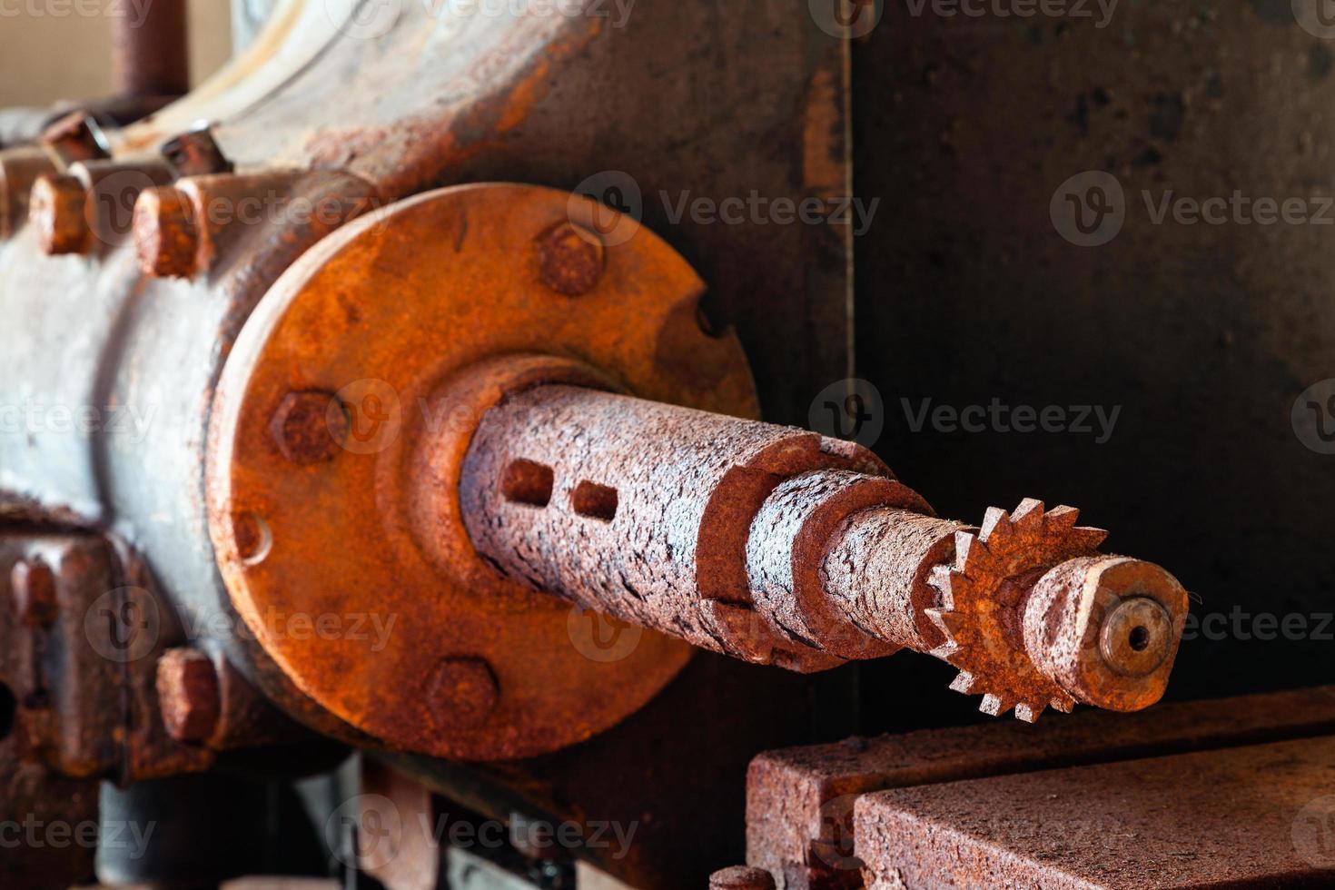 Machine shaft photo