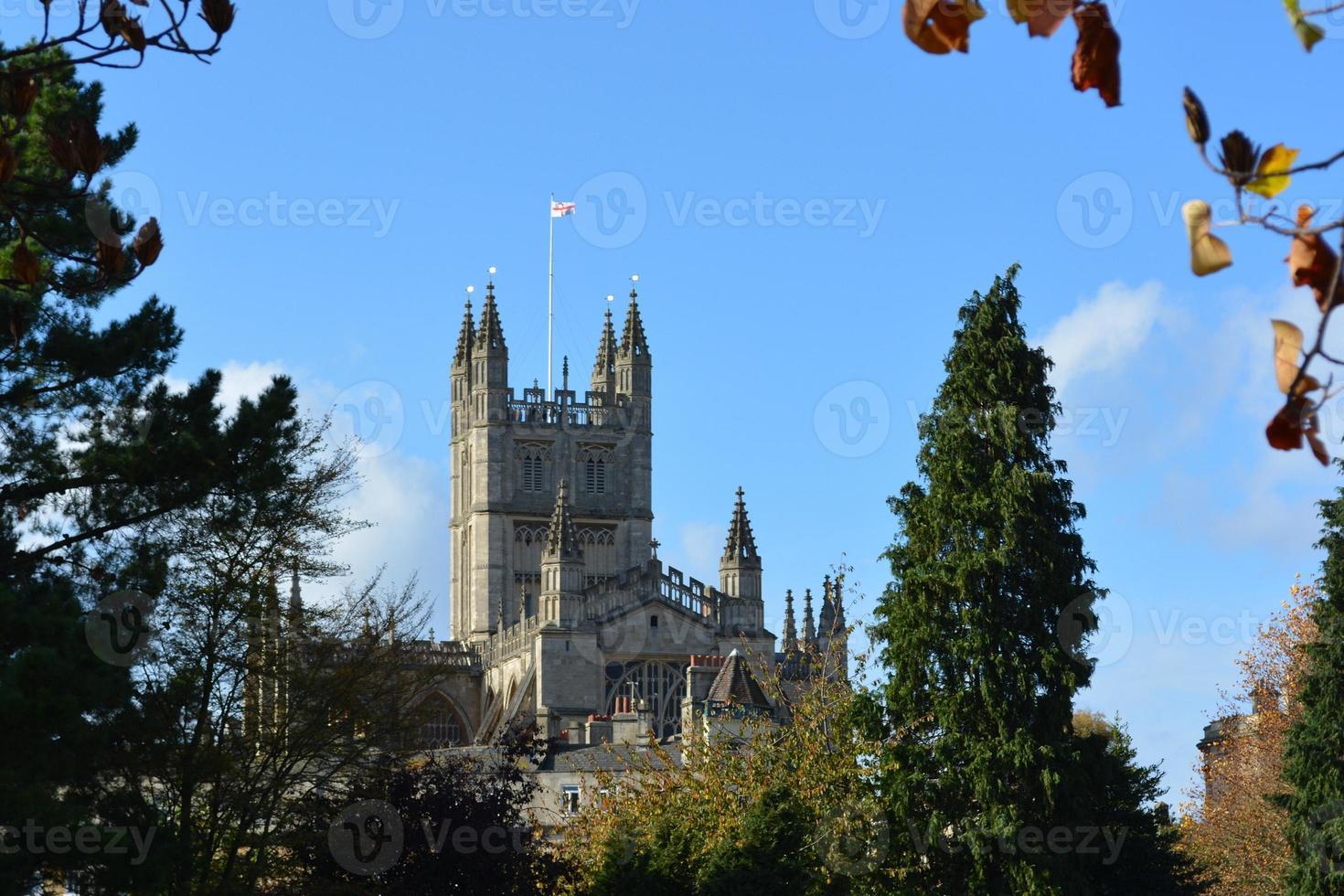 Abadía de Bath, Inglaterra foto