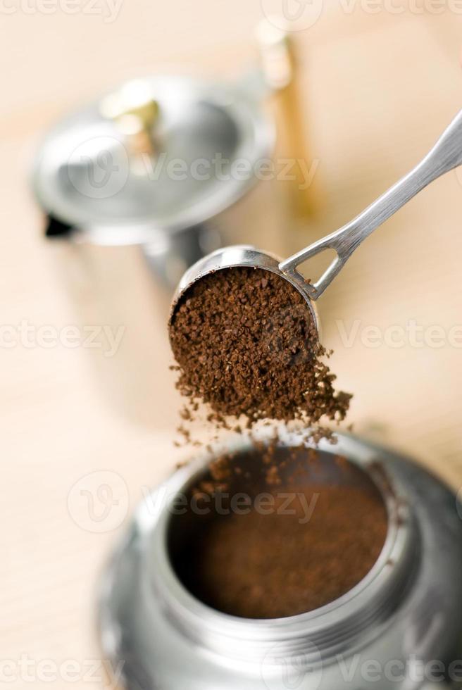 Coffee maker. photo