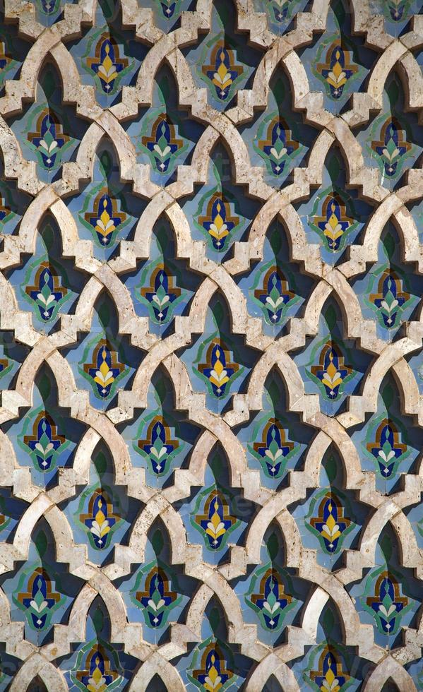 Arabic pattern photo