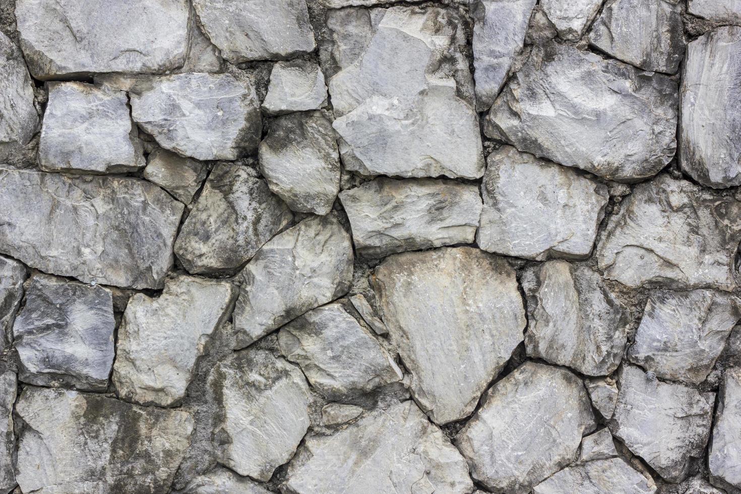 patrón de muro de piedra foto