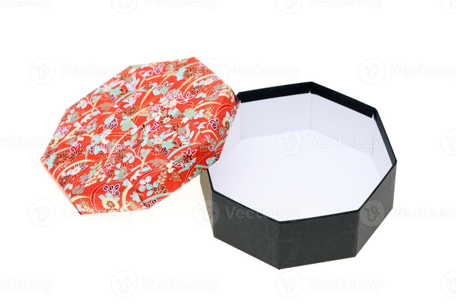 caja de regalo de patrón japonés foto