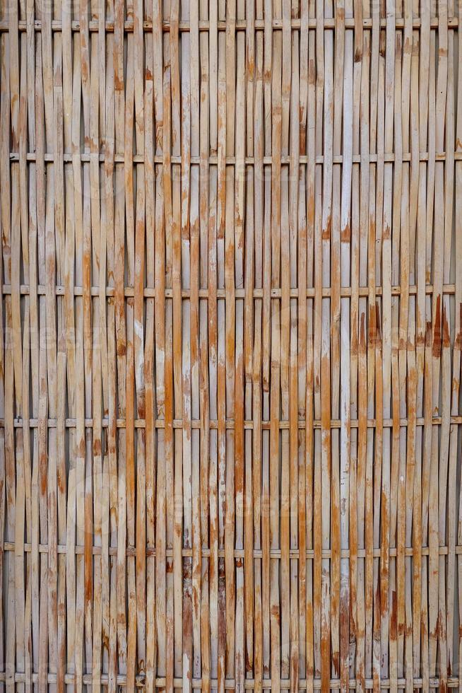 textura de bambú con patrones naturales foto