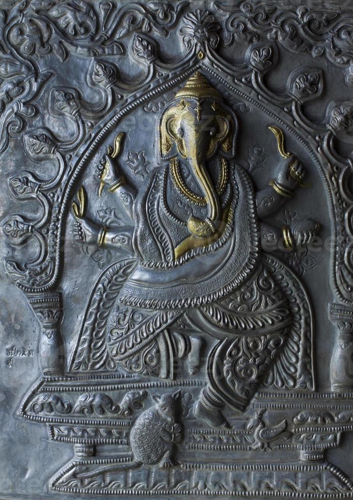 patrón nacional indio, decoración, foto