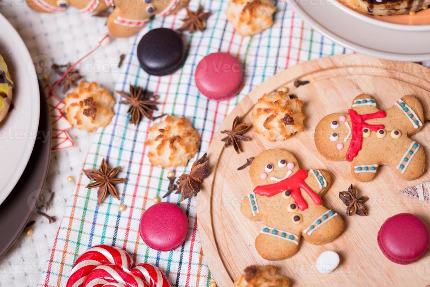 dulces navideños foto