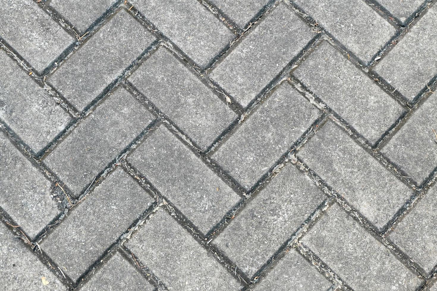 Brick Floor Pattern - Background texture photo
