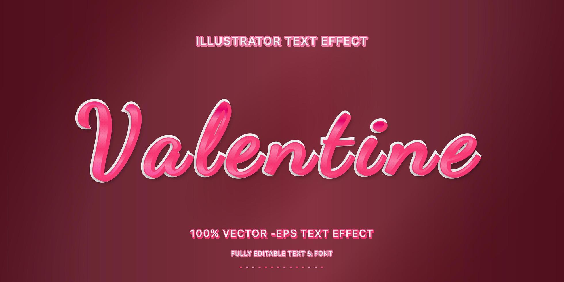 roze verloop met stippen tekststijl vector